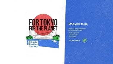 For Tokyo. For the planet