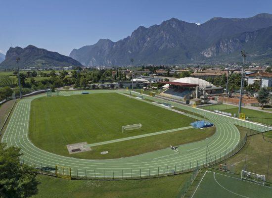 Centro Sportivo Via Pomerio, Arco di Trento, Italy, Re-topping, Rekortan M