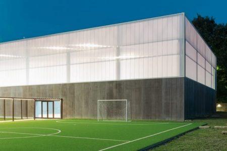 Mehrzweckhalle Gissi, Italien - Gym Point - LigaGrass Pro