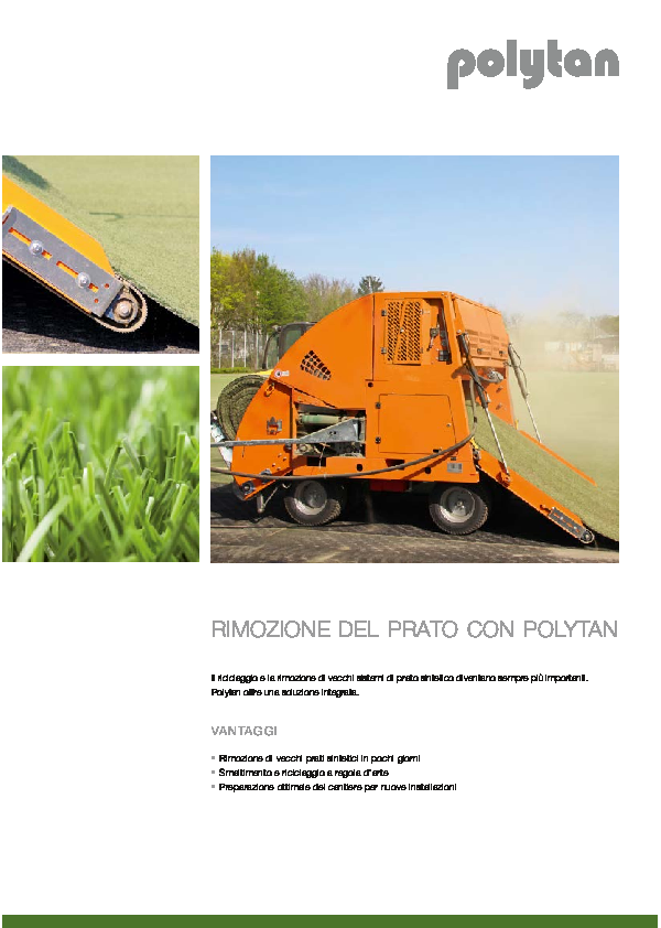 Turf Removal Brochure